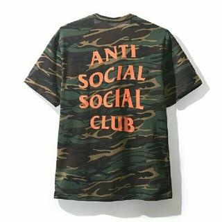 アンチ(ANTI)の正規 Anti Social Social Club グリーン カモ Tシャツ(Tシャツ/カットソー(半袖/袖なし))