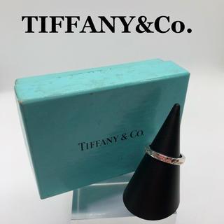 ティファニー(Tiffany & Co.)の*レア品*美品*鏡面*ティファニー*ノーツ*ナローリング*指輪*11号相当*(リング(指輪))