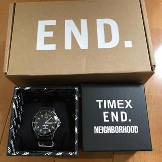 ネイバーフッド(NEIGHBORHOOD)のtimex neighborhood end ダイバーズウォッチ(腕時計(アナログ))