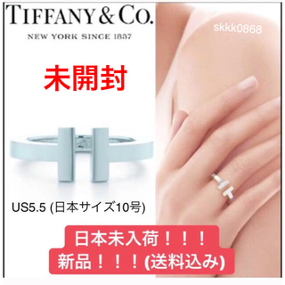 ティファニー(Tiffany & Co.)のTiffany T Square Ring【日本未入荷】未開封  ティファニー(リング(指輪))