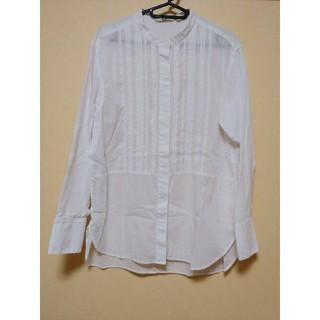 ユニクロ(UNIQLO)のUNIQLO 白シャツ(シャツ/ブラウス(長袖/七分))