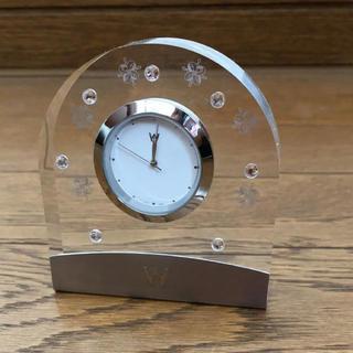 WEDGWOOD - 未使用 Wedgwood ストーン付 置き時計 クリスタル