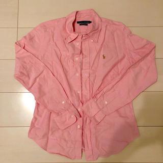 ラルフローレン(Ralph Lauren)の可愛い☆RALPH LAUREN☆ラルフローレン☆ピンクシャツ☆(シャツ/ブラウス(長袖/七分))
