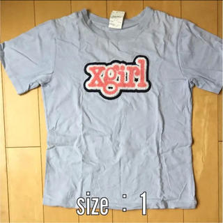 エックスガール(X-girl)のXgirl Tシャツ  サイズ1(Tシャツ(半袖/袖なし))