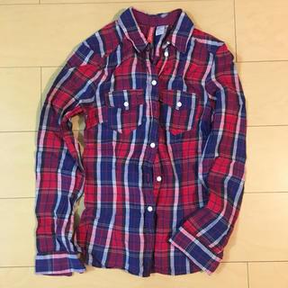エイチアンドエム(H&M)のH&M チェックシャツ ネルシャツ(シャツ/ブラウス(長袖/七分))