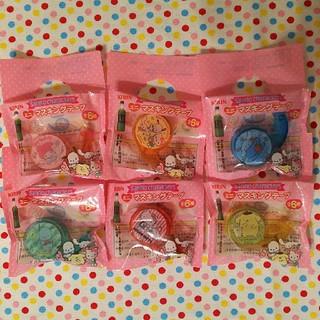 キリン(キリン)のKIRIN生茶 ミニマスキングテープ6種類(テープ/マスキングテープ)