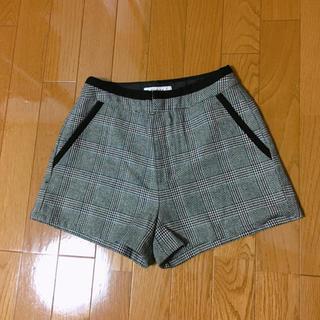 エゴイスト(EGOIST)のエゴイスト♡チェック柄ショーパン(ショートパンツ)