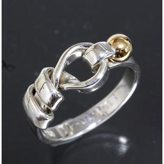ティファニー(Tiffany & Co.)のティファニー TIFFANY&CO. フック&アイ コンビ リング 7号(リング(指輪))