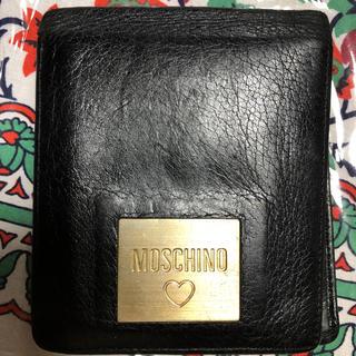 モスキーノ(MOSCHINO)の最安値!MOSCHINO折財布(財布)