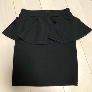 アンズ(ANZU)のペプラムスカート(ミニスカート)