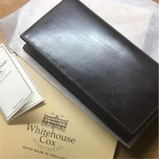 ホワイトハウスコックス(WHITEHOUSE COX)のホワイトハウスコックス S9697 長財布(長財布)