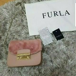 フルラ(Furla)のFURLA♡未使用ファーチェーンバッグ(ショルダーバッグ)