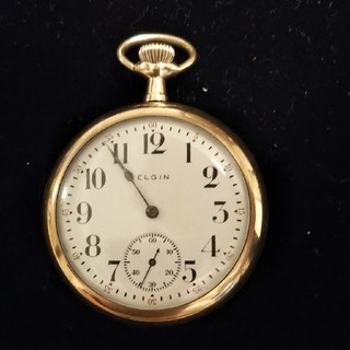 エルジン(ELGIN)のエルジン手巻き懐中時計(その他)