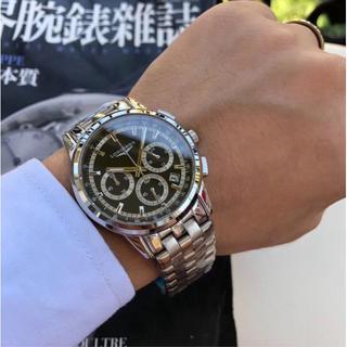 ロンジン(LONGINES)のLONGINES自動巻  腕時計 大人気 1:1(腕時計(アナログ))
