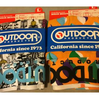 アウトドアプロダクツ(OUTDOOR PRODUCTS)の新品 OUTDOOR PRODUCTS ボクサーパンツ Lサイズ 2枚(ボクサーパンツ)