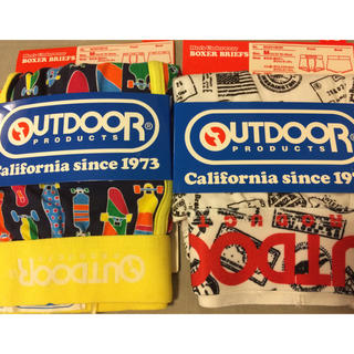アウトドアプロダクツ(OUTDOOR PRODUCTS)の新品 OUTDOOR PRODUCTS ボクサーパンツ Mサイズ 2枚(ボクサーパンツ)