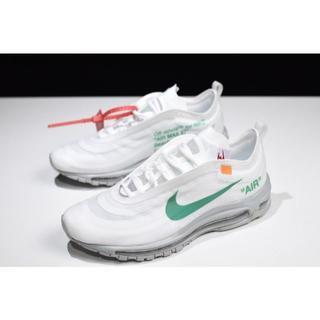 ナイキ(NIKE)の新品Off White x Nike Air max 97 (スニーカー)