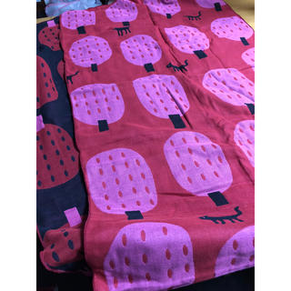 マタノアツコ ジャガード織りガーゼストール(ストール/パシュミナ)