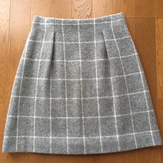 ロペ(ROPE)の美品♡ロペ ウィンドペンチェックシャギースカート (ミニスカート)