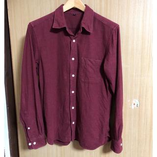 ムジルシリョウヒン(MUJI (無印良品))の無印 綿100 シャツ M  MUJI(シャツ)