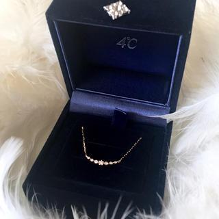ヨンドシー(4℃)の4℃  45周年限定  ダイヤモンド アクアニスタ ネックレス (ネックレス)