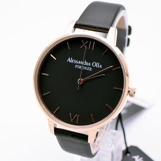 アレッサンドラオーラ(ALESSANdRA OLLA)のアレッサンドラオーラ 腕時計 レディース シンプル ピンクゴールド 激安(腕時計)
