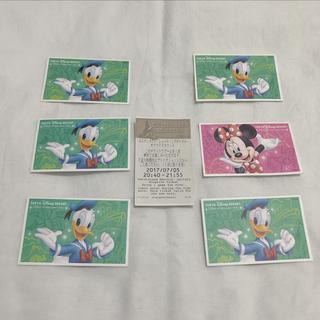 ディズニー(Disney)のDisney 使用済み チケット(遊園地/テーマパーク)
