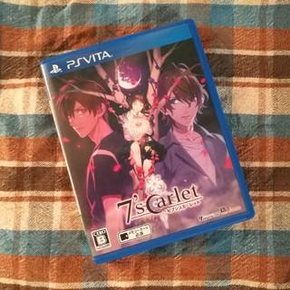 プレイステーションヴィータ(PlayStation Vita)のセブンスカーレット PSvita ソフト(携帯用ゲームソフト)