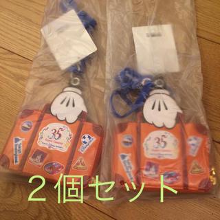 ディズニー(Disney)の【新品】バケーションパッケージ パスケース(ノベルティグッズ)