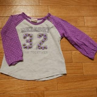 ウィルメリー(WILL MERY)のロンT80cm 紫(シャツ/カットソー)