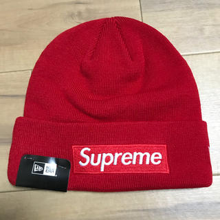 Supreme New Era Box Logo Beanie ビーニー