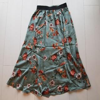 ザラ(ZARA)の未使用✿ZARA 花柄巻きスカート・ロング(ロングスカート)