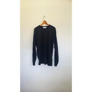 トーガ(TOGA)の長袖シャツ シャツ ブラック L TOGA VIRILIS リメイク トーガ(Tシャツ/カットソー(七分/長袖))