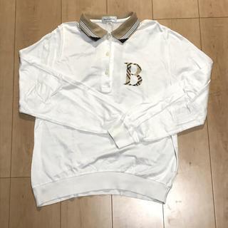 バーバリー(BURBERRY)のバーバリーズ 長袖 ポロシャツ レディース Lサイズ(ポロシャツ)