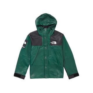 シュプリーム(Supreme)のSupreme NorthFace コラボ leather jacket(レザージャケット)