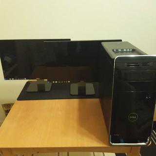 デル(DELL)のDELL XPS8700(core i7) モニターS2240L 2台セット(デスクトップ型PC)