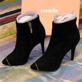 リエンダ(rienda)のrienda❤️リエンダ ショートブーツ❤️(ブーティ)