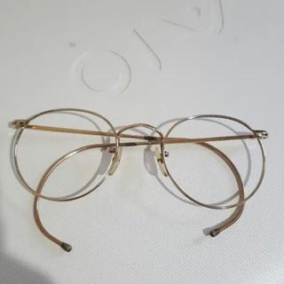 アヤメ(Ayame)の英国製 20/1000GF 金張 ラウンドメガネ ボシュロム ジョンレノン(サングラス/メガネ)