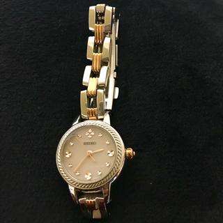 セイコー(SEIKO)のSEIKO ティセ セイコーストーン ソーラー腕時計(腕時計(アナログ))
