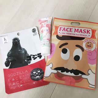 ディズニー(Disney)のフェイスパックとハンド&ボディクリーム(パック / フェイスマスク)
