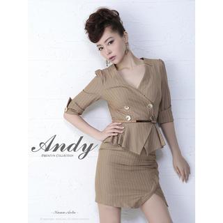 アンディ(Andy)のandyスーツ風ドレス(ミニドレス)