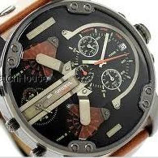 ディーゼル(DIESEL)のレザーベルト★DIESELディーゼルDZ7332★新品1年保証(腕時計(アナログ))