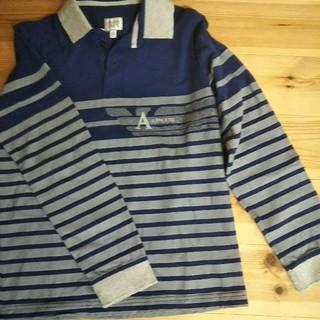 アルマーニ ジュニア(ARMANI JUNIOR)のラガーシャツ(Tシャツ/カットソー)