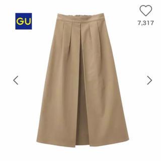 GU - 10/21(日)24時まで値下げ・gu チノマキシスカート
