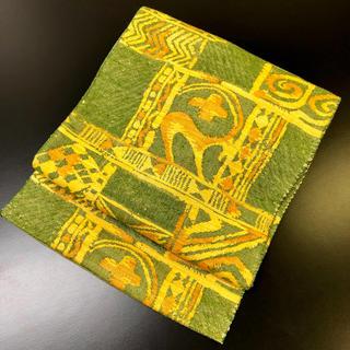 正絹。織の名古屋帯。4(帯)