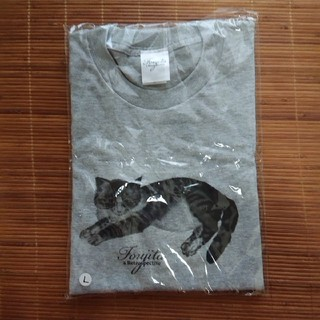 未開封品 藤田嗣治展 限定 猫Tシャツ(Tシャツ/カットソー(半袖/袖なし))