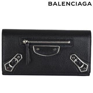 バレンシアガ(Balenciaga)のBALENCIAGA CLASSIC METALIC EDGE MONEY長財布(財布)