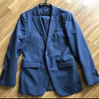 ザラ(ZARA)のスーツセレクト ネイビー Y4 セットアップ 美品(セットアップ)