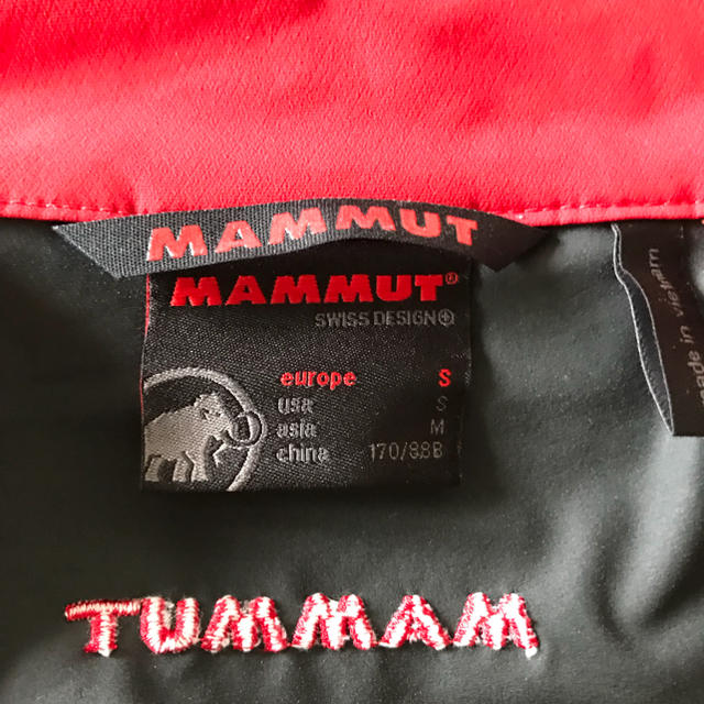Mammut(マムート)のマムートソフトシェル取置き中 スポーツ/アウトドアのアウトドア(登山用品)の商品写真