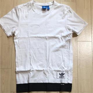 adidas - アディダス Tシャツ パーカー Mサイズ 中古 オリジナルス ホワイト